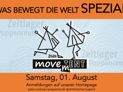 Zeltlager 2020 – Aktion  1. August 2020